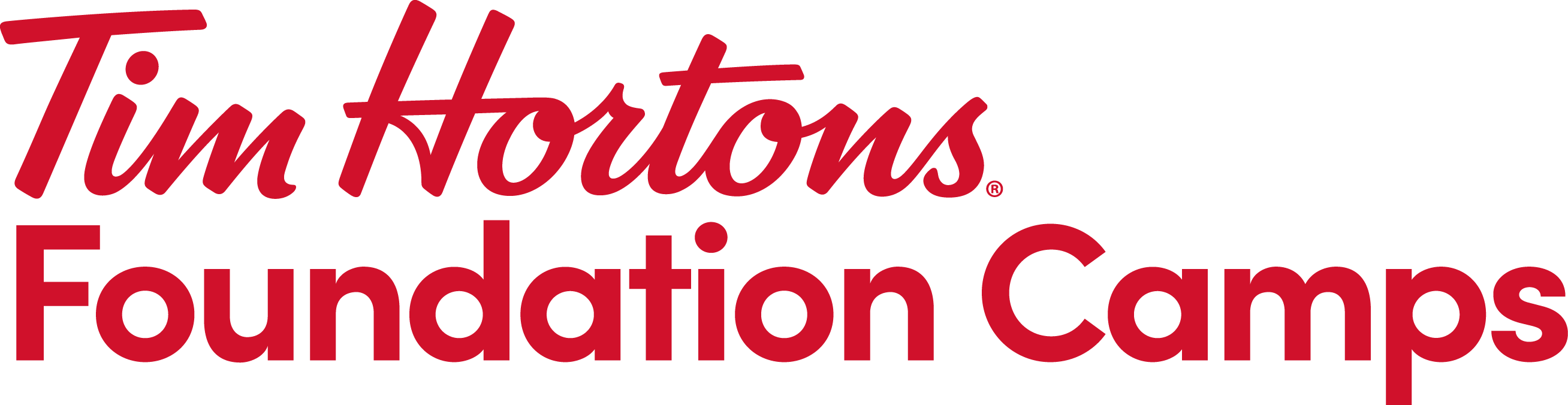 Tim Hortons Foundation Camps Logo - Red